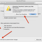Fix App Can't Be Opened As Its From Unidentified Developer Error in Mac
