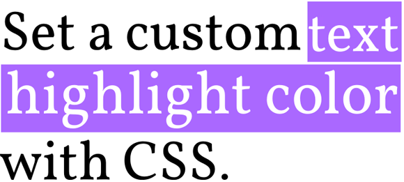 css-code-custom-text-highlight-color