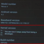 How to Enable Developer Settings in Android 4.2 Jelly Bean Phone