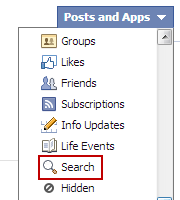 How to delete facebook search history facebook search history ccuart Images
